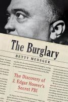 Cover page of the burglary