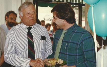 Dr. John Davitt and Levon Marashlian