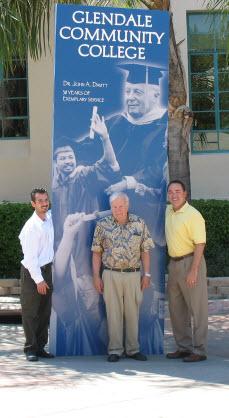 Dr. John Davitt with Paul Schlossman and Alen Andrassian