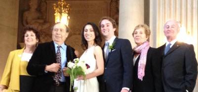 photo of Marcia WalesteinSibony and family