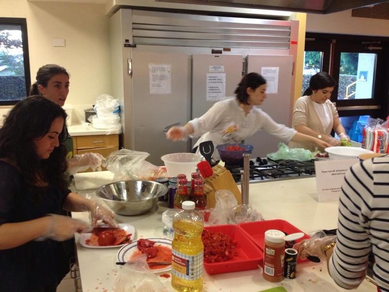 Scholars students cooking