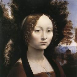 Leonardo da Vinci - Portrait of Ginerva de Benci