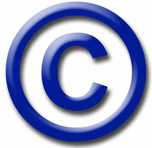 Large copyright symbol