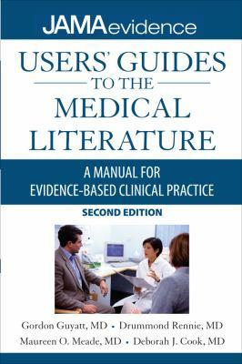 Cover image of JAMA User's Guide to the Medical Evidence