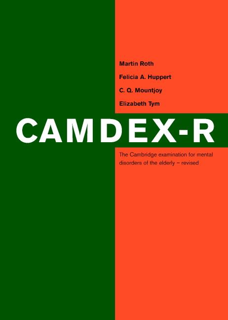 Camdex-R book cover