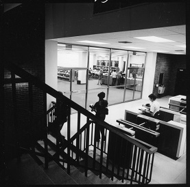 1970s entrance to UGL security gates