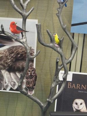 2D Birds in 3D Tree
