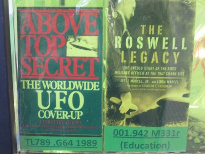Above Top Secret and the Roswell Legacy