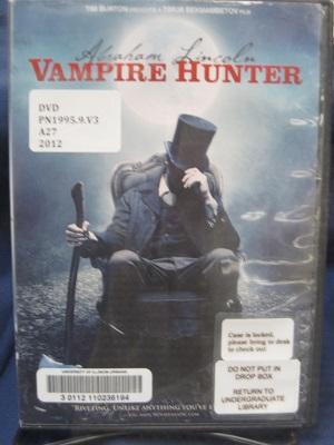 Abraham Lincoln--Vampire Hunter