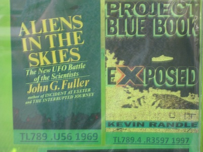 Aliens in the Skies and Project Blue Book Exposed