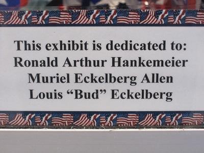 America--Exhibit Dedication