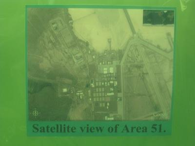 Area 51--Satellite View