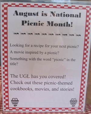 August is National Picnic Month!