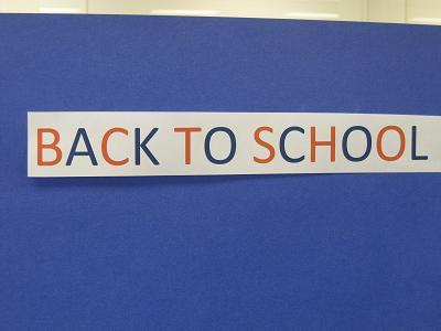 Back to School--Blue
