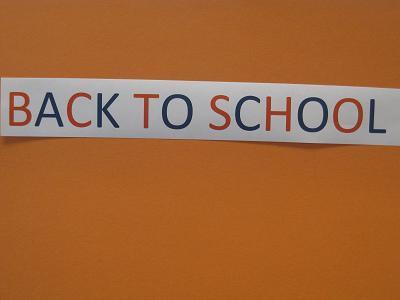Back to School--Orange