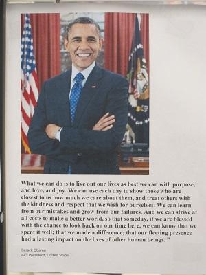 Barack Obama Quote--Life