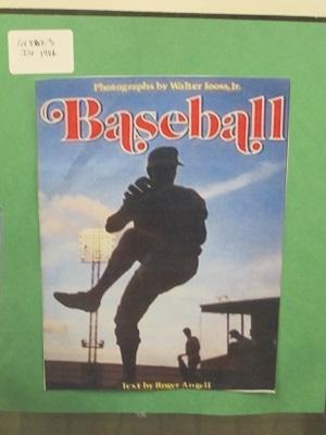 Baseball--Roger Angell
