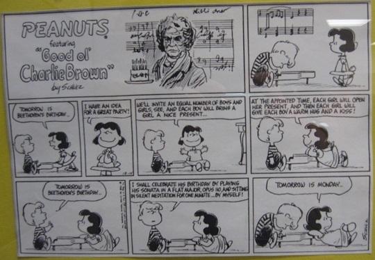 Beethoven's birthday