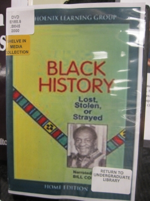 Black History--Lost, Stolen or Strayed