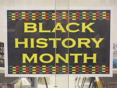 Black History Month--Sign