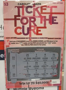 Ticket for the Cure