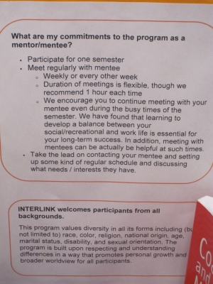 Commitments to the Program