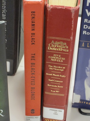 Detective books--Black and Christie