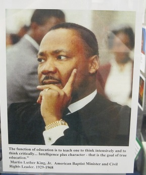 Dr. King Quote--Education