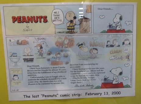 Final Peanuts Comic Strip--Feb. 13, 2000