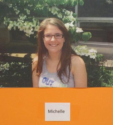 Grads 2015--Michelle