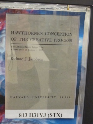 Hawethorne's Conception of the Creative Process2