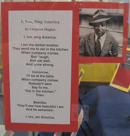 I, Too, Sing America--by Langston Hughes