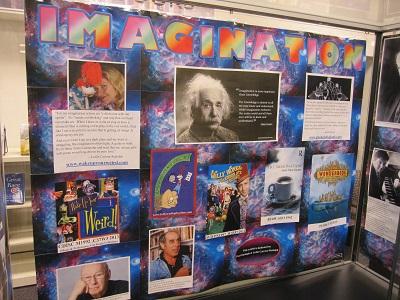 Imagination--backdrop--interior of case