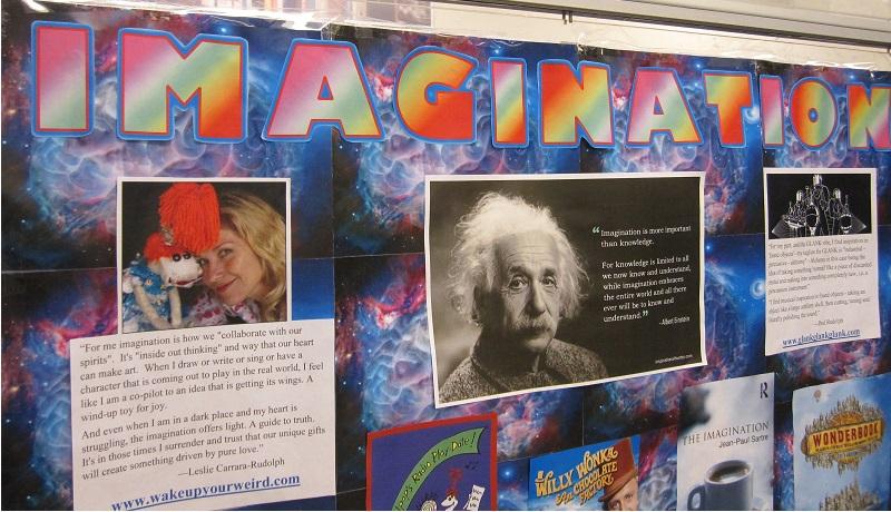 Imagination--Title--Close up