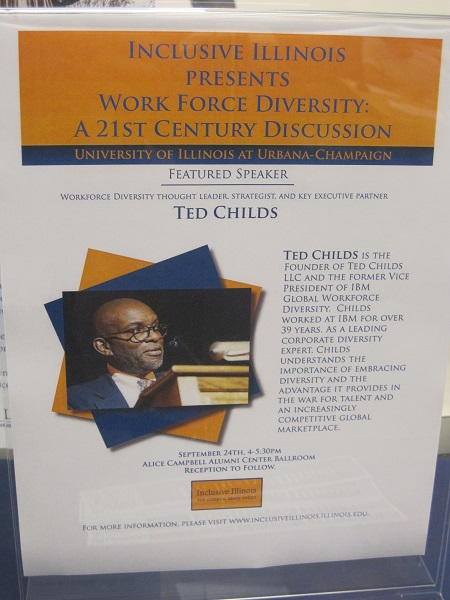 Inclusive Illinois--Work Force Diversity:  A 21st Century Discussion