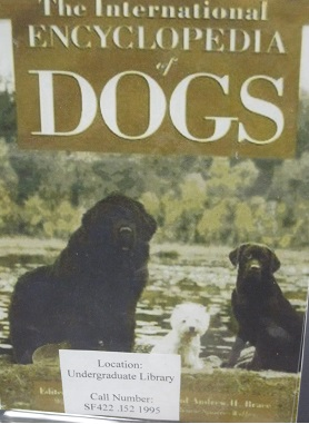 International Encyclopedia of Dogs
