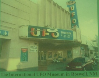 International UFO Museum in Roswell, New Mexico