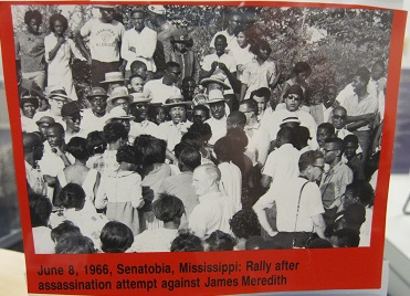 June 8, 1966--Senatobia, MS--Rally after assassination attempt against James Meredith
