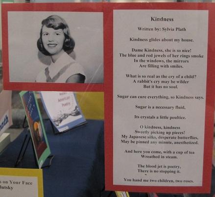 Kindness--by Sylvia Plath