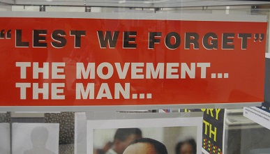 Lest We Forget--The Movement...the Man...