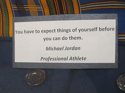 Michael Jordan Quote--Expecting things of yourself