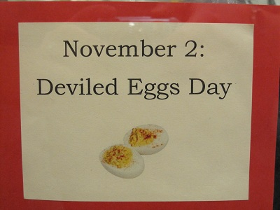 November 2--Deviled Eggs Day
