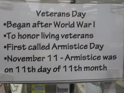 Origins of Veterans Day