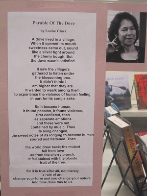 Parable of the Dove by Louise Gluck