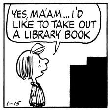 Peppermint Patty--Library book
