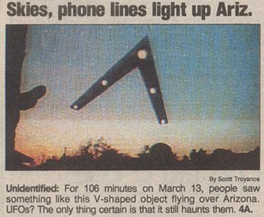 Phoenix Lights--March 13, 1997