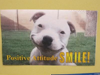 Positive Attitude--SMILE!
