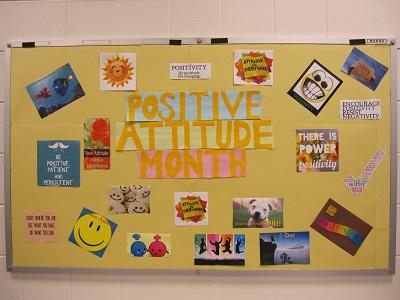 Positive Attitude Month--Whole Exhibit