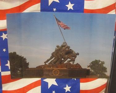 Raising the Second Flag on Iwo Jima