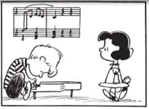 Schroeder and Lucy